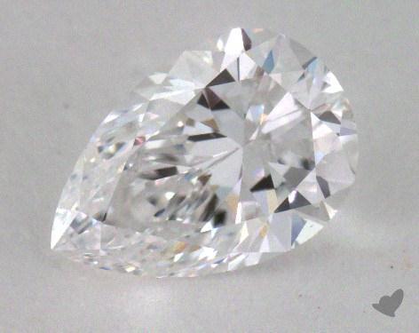 <b>1.01</b> Carat D-VS2 Pear Cut Diamond