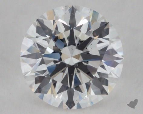 <b>1.01</b> Carat E-SI1 Round Diamond