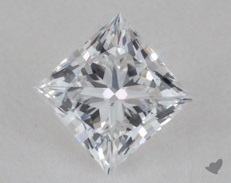 <b>0.31</b> Carat D-VS2 Princess Cut Diamond