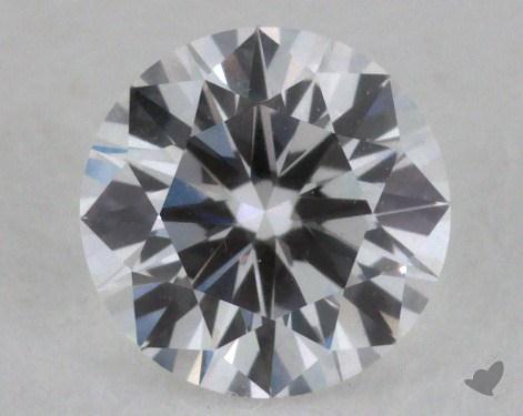<b>0.52</b> Carat E-VVS1 Very Good Cut Round Diamond