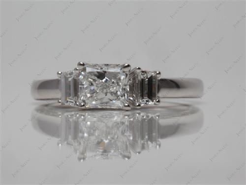 White Gold  Micro Pave Ring