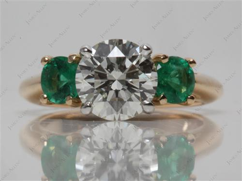 Gold  Gem Stone Ring