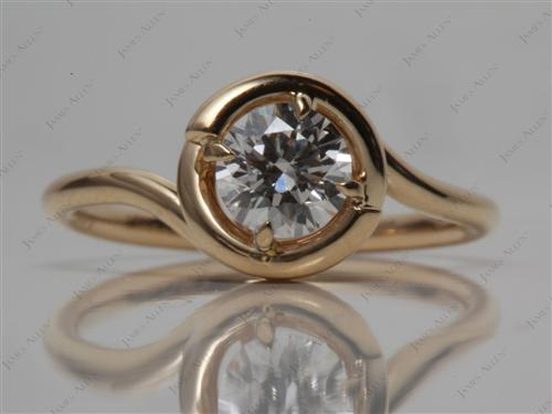 Gold  Micro Pave Ring