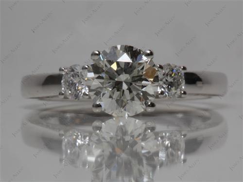 Platinum  Three Stones