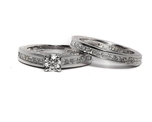 Platinum  Bridal Wedding Sets