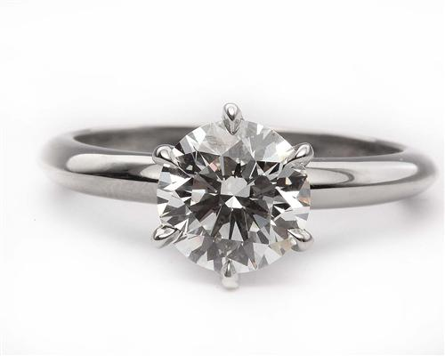 Platinum  Solitaire Ring Designs