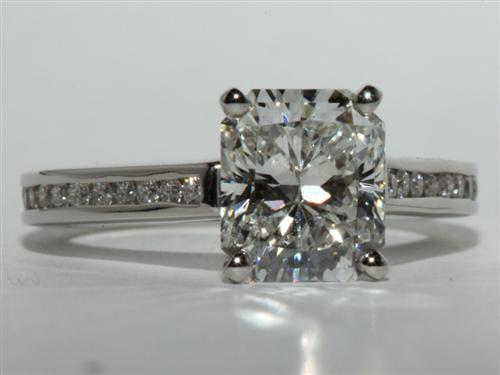 Platinum  Channel Ring
