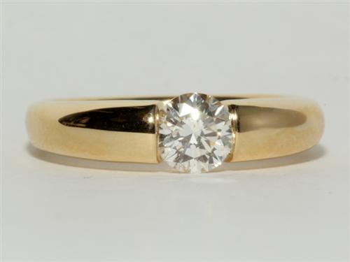 Gold  Tension Ring