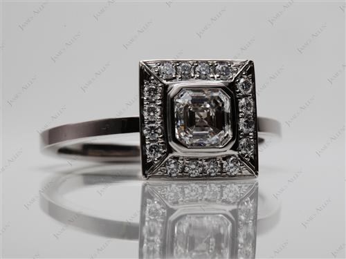 Platinum  Tension Rings