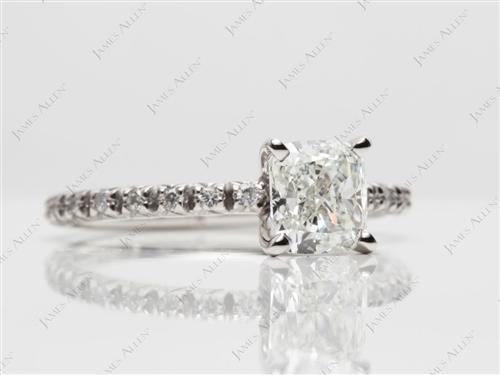 Platinum  Gold Wedding Ring Sets