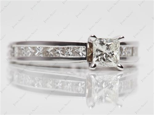 White Gold  White Gold Wedding Sets