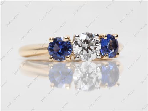 Gold  Gem Stone Rings