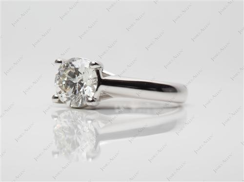 White Gold  Solitaire Ring Settings