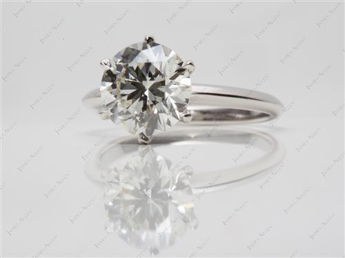Platinum  Engagement Ring