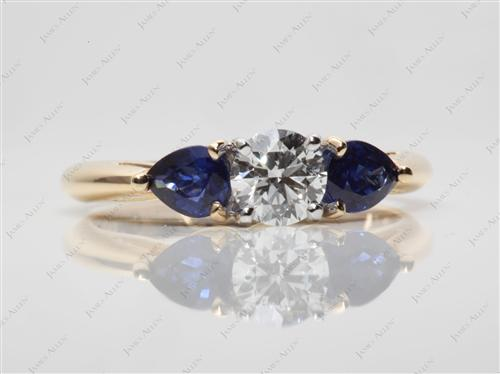 Gold  Colored Gemstone Rings