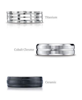 wedding rings metals