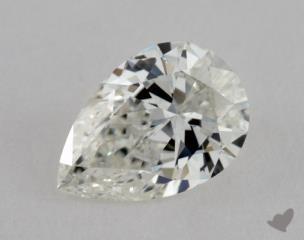 pear0.74 Carat IIF