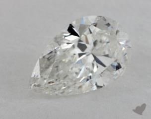 pear0.71 Carat GSI2