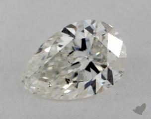 pear0.70 Carat GSI2