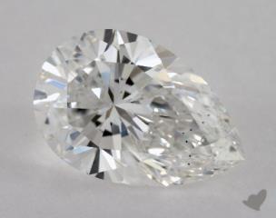 pear1.05 Carat FSI1