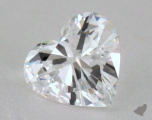 1.27 Carat D-IF Heart Cut Diamond