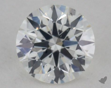 <b>0.34</b> Carat H-SI1 True Hearts<sup>TM</sup> Ideal Diamond