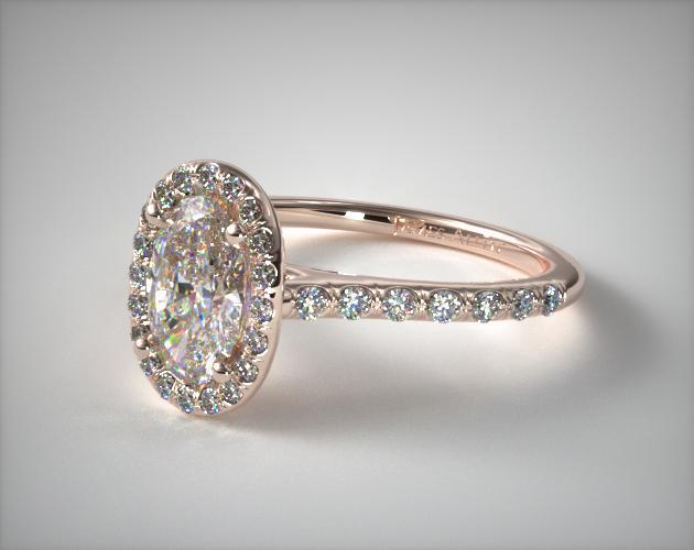 30 Beautiful Oval Engagement Rings with Halo