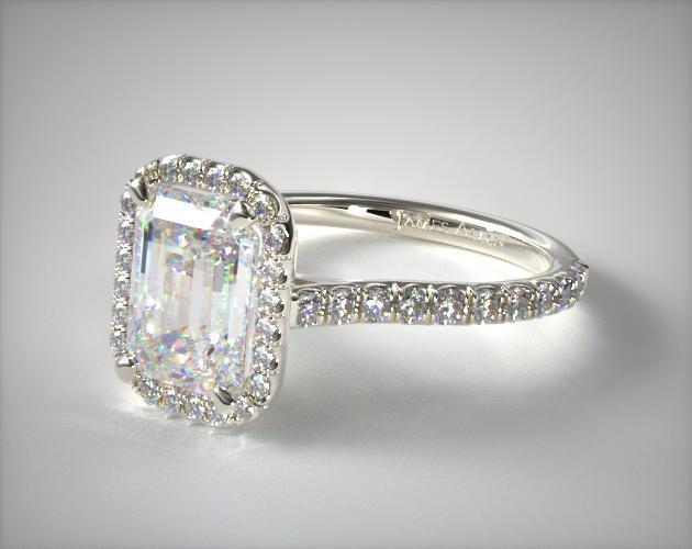 Princess Cut Diamond With Channel Setting